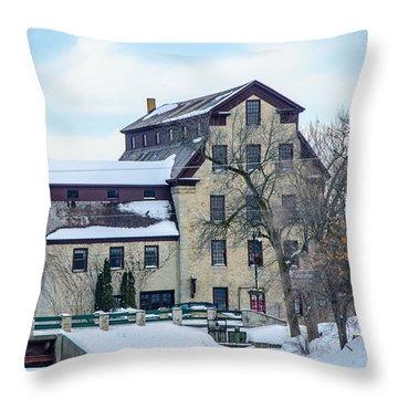 Cedarburg Mill Throw Pillow