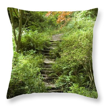 Cefn Onn Throw Pillow by Jeremy Voisey