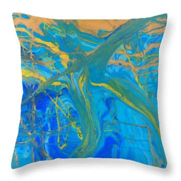 Celebrate 1 Throw Pillow