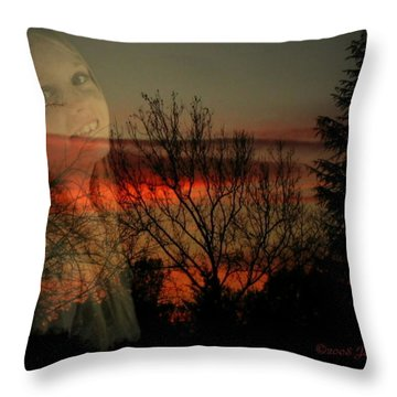 Throw Pillow featuring the photograph Celebrate Life by Joyce Dickens