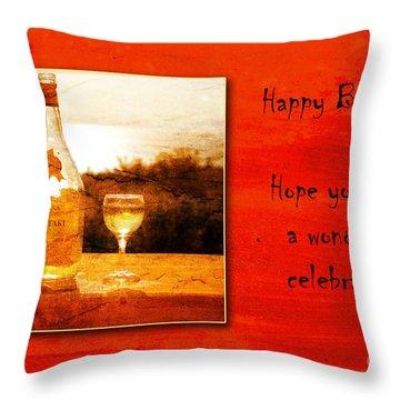 Celebrate Throw Pillow by Randi Grace Nilsberg