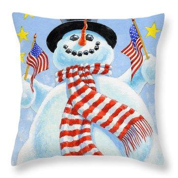 Celebrate Throw Pillow by Richard De Wolfe