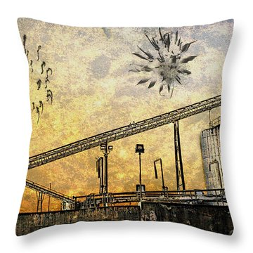 Celebrate With Me Throw Pillow by Davina Washington
