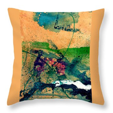 Celebration Throw Pillow by Becky Chappell