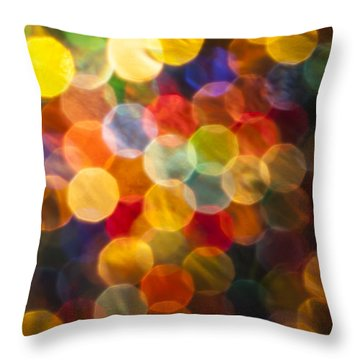 Celebration Throw Pillow by Jan Bickerton
