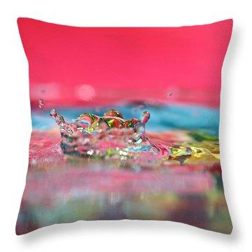 Celebration Throw Pillow by Lisa Knechtel