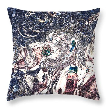 Throw Pillow featuring the digital art Celebration Of Entanglement by Richard Thomas