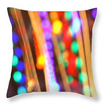 Celebration Throw Pillow by Penny Meyers