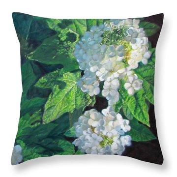 Celebration Sunrise Throw Pillow by Bonnie Mason