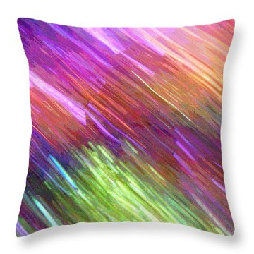 Celeritas 17 Throw Pillow