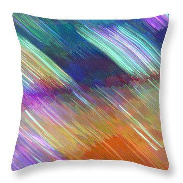 Celeritas 18 Throw Pillow