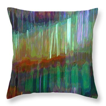 Celeritas 23 Throw Pillow