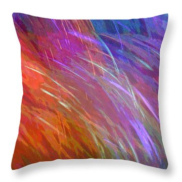 Celeritas 27 Throw Pillow