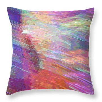 Celeritas 3 Throw Pillow