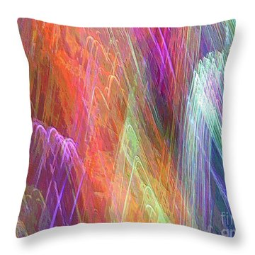 Celeritas 30 Throw Pillow