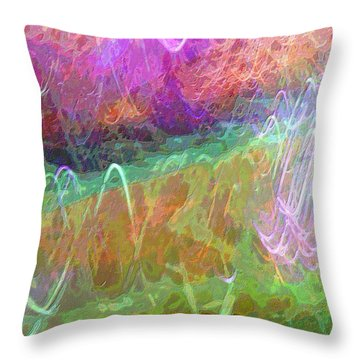 Celeritas 34 Throw Pillow