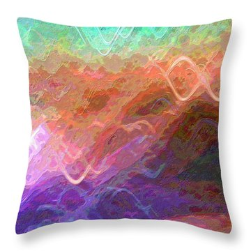 Celeritas 36 Throw Pillow