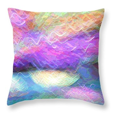 Celeritas 37 Throw Pillow