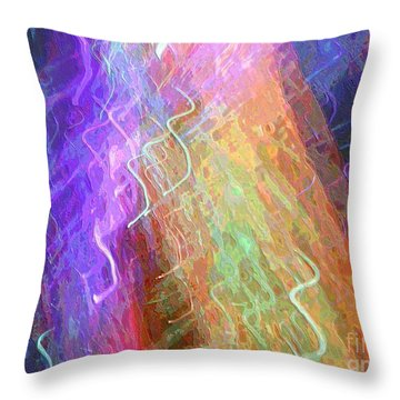 Celeritas 43 Throw Pillow