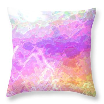 Celeritas 45 Throw Pillow