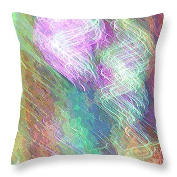 Celeritas 49 Throw Pillow