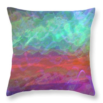 Celeritas 55 Throw Pillow