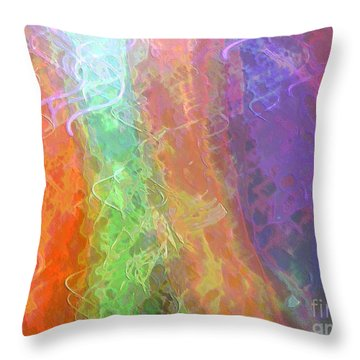 Celeritas 58 Throw Pillow