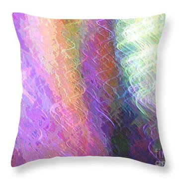 Celeritas 61 Throw Pillow