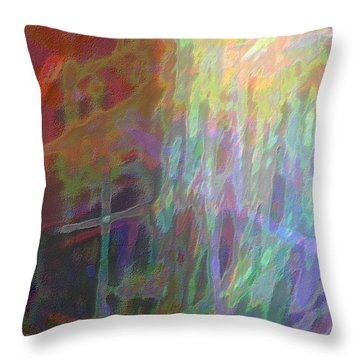Celeritas 67 Throw Pillow