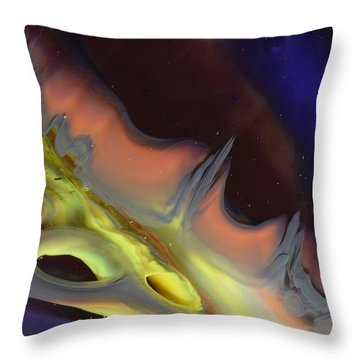 Celestial 3 Throw Pillow