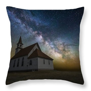 Throw Pillow featuring the photograph Celestial by Aaron J Groen