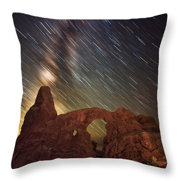 Celestial Cannon Throw Pillow