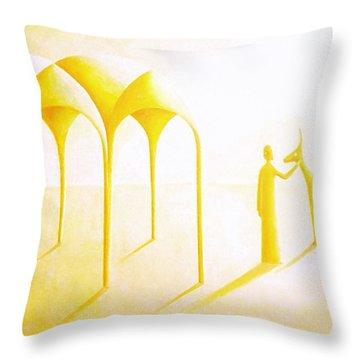 Celestial Dimension Throw Pillow
