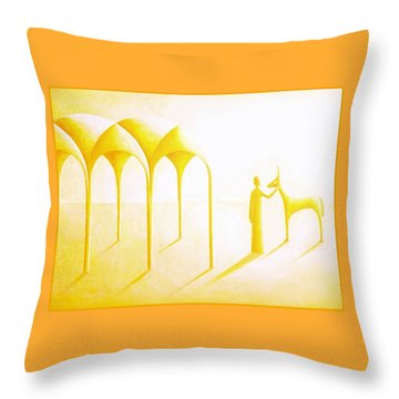 Celestial Dimension Throw Pillow