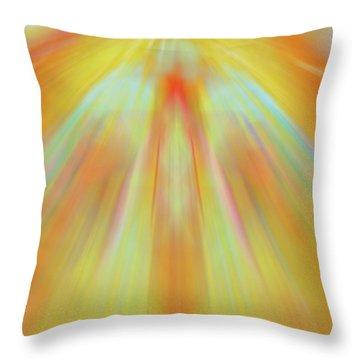 Celestial Flight Throw Pillow