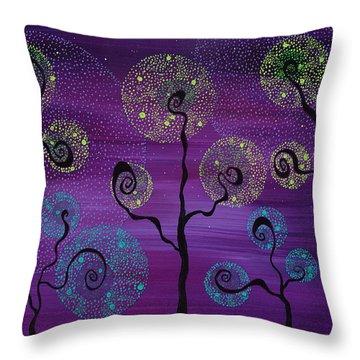 Celestial Garden Throw Pillow