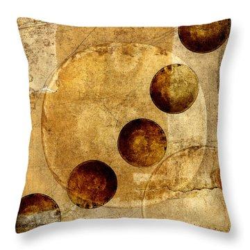 Celestial Spheres Throw Pillow