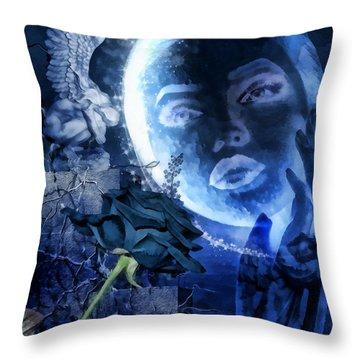 Celestine Throw Pillow by Mo T