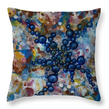 Cell No.20 Throw Pillow by Angela Canada-Hopkins