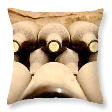 Cellar Dwellars Throw Pillow