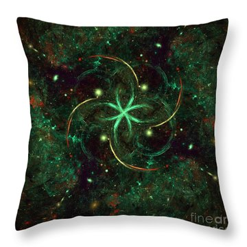 Celtic Throw Pillow by Arlene Sundby