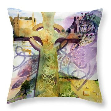 Inspired By Ancient Designs Throw Pillow