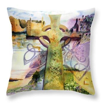 Eat Pray Love Throw Pillow