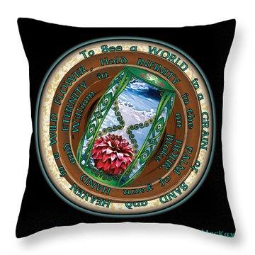 Celtic Eternity Throw Pillow