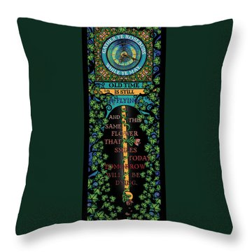 Celtic Impermanence Throw Pillow