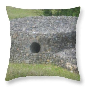 Celtic Kiva Throw Pillow