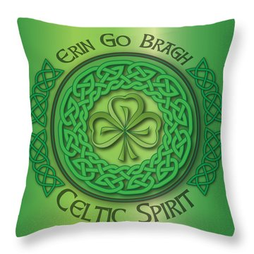 Celtic Spirit Throw Pillow