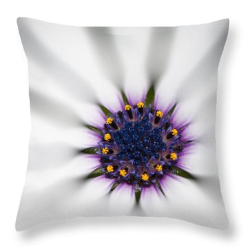 Center Of Life Throw Pillow
