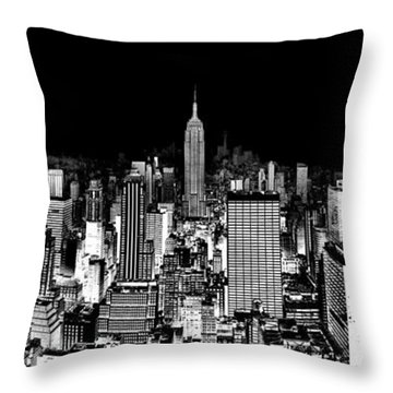 Center Of The Universe Throw Pillow