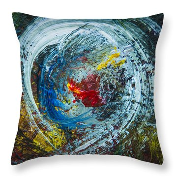 Centered Heart Throw Pillow